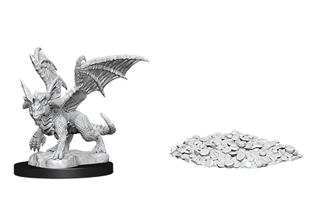 Blue Dragon Wyrmling D&D Nolzur's Miniatures