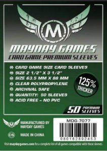 Mayday Sleeves: 7077 Premium Card Game Card Sleeves (50)