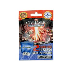 Dice Masters Marvel: Civil War Foil Pack