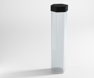 Clear Playmat Tube