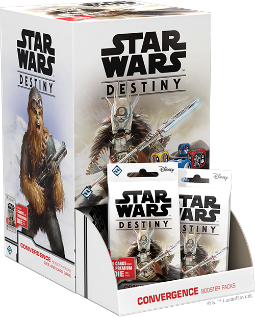 Star Wars Destiny: Convergence Booster Pack Display (36)