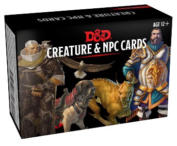 D&D Spellbook: Creature and NPC cards