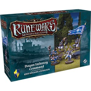 Runewars: Daqan Infantry Command Expansion Pack
