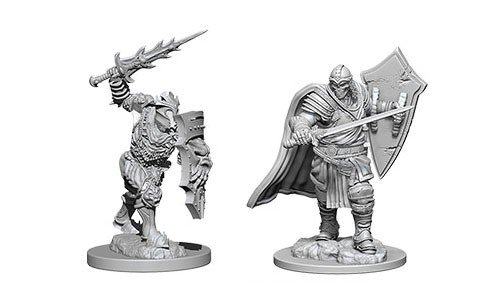 D&D Minis: Death Knight & Helmed Horror