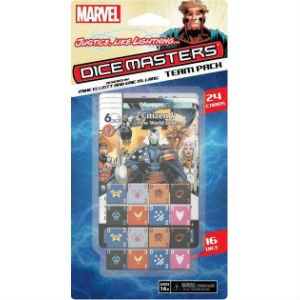 Dice Masters Marvel: Justice Like Lightning Team Pack