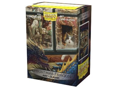 Dragon Shield: Christmas Dragons Art (100)