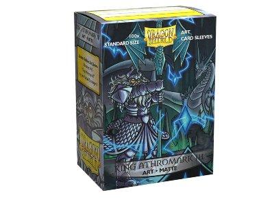 Dragon Shield: Matte 'King Athromark III Portrait' Art (100)