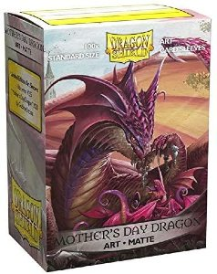 Dragon Shield: Matte Mother's Day 2020 Dragon Art (100)