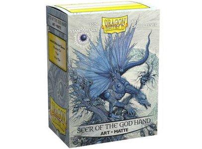 Dragon Shield: Matte Seer of the God Hand Art (100)