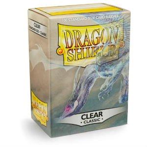 Clear Classic Dragon Shield (100)