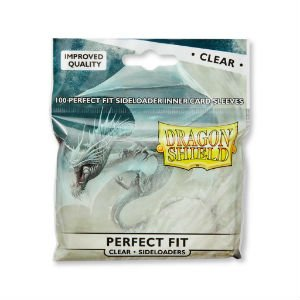 Dragon Shield: Perfect Fit - Clear - Side Loading (100)