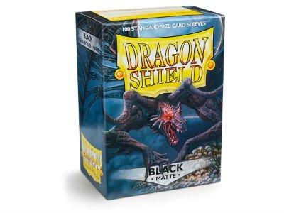 Dragon Shield: Matte Black (100)