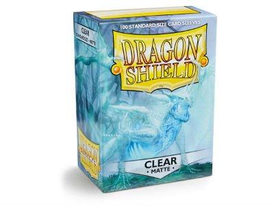 Clear Matte Dragon Shield (100)
