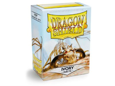 Dragon Shield: Matte Ivory (100)