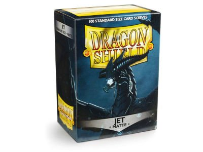 Dragon Shield: Matte Jet (100)
