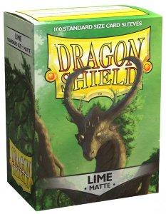 Lime Matte Dragon Shield (100)