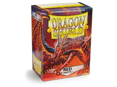 Dragon Shield: Matte Red (100)