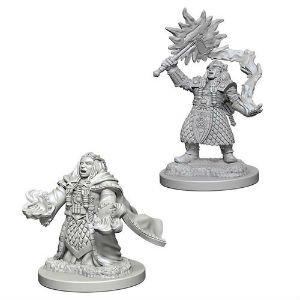 D&D Minis: Dwarf Female Cleric