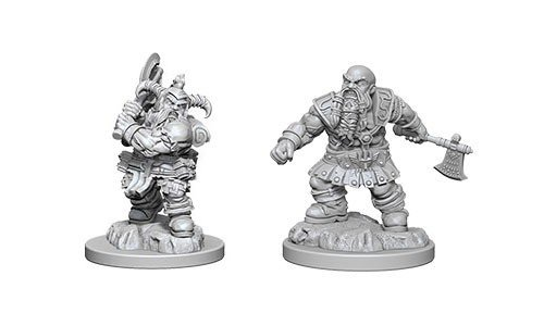 D&D Minis: Dwarf Male Barbarian