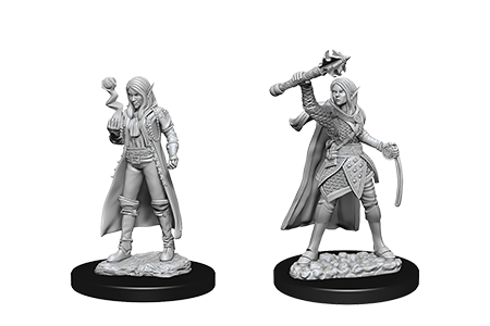 D&D Minis: Elf Female Cleric