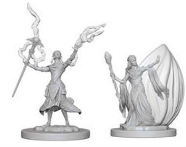 D&D Minis: Elf Female Wizard