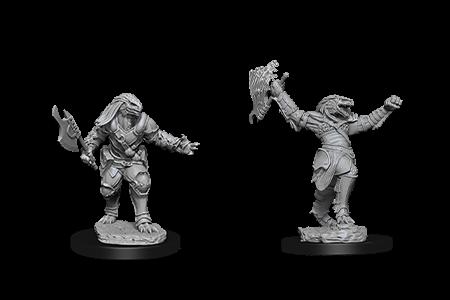 Dragonborn Fighter Female D&D Nolzur's Miniatures
