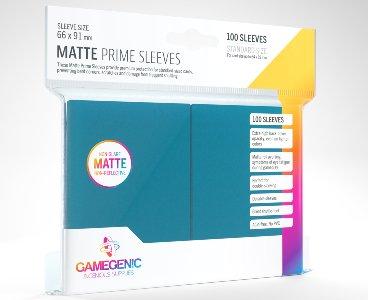 Blue Matte Prime Card Sleeves GameGenic