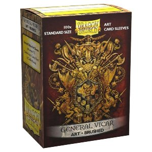 General Vicar Brushed Art Dragon Shield (100)
