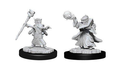 D&D Minis: Gnome Male Wizard