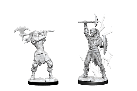 D&D Minis: Goliath Female Barbarian