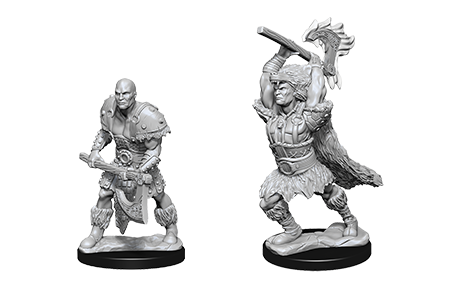 D&D Minis: Goliath Male Barbarian