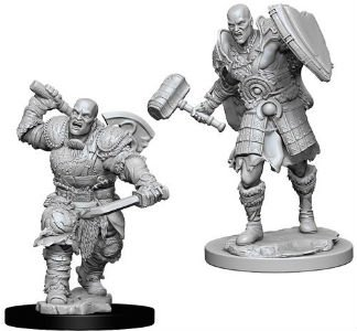 D&D Minis: Goliath Male Fighter