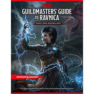 D&D: Map Pack for Guildmaster's Guide to Ravnica