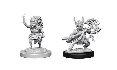 D&D Minis: Halfling Female Fighter
