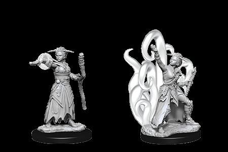 D&D Minis: Human Female Warlock