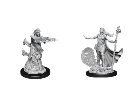 D&D Minis: Human Female Wizard