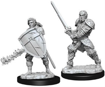 D&D Minis: Human Male Fighter