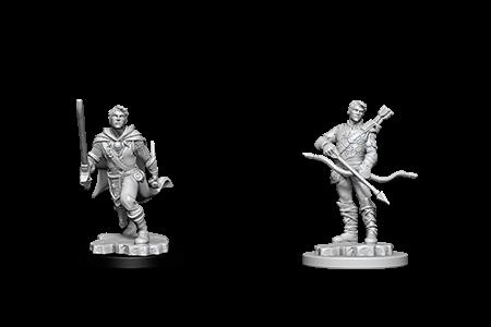 D&D Minis: Human Male Ranger