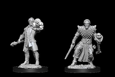 D&D Minis: Human Male Warlock