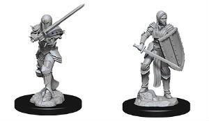 D&D Minis: Human Female Fighter