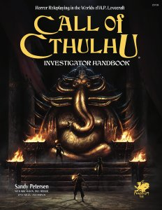 Call of Cthulhu: 7th Edition Investigator Handbook Hardcover