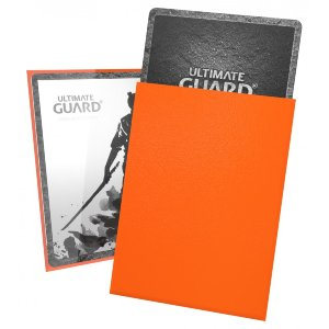 Orange Katana Sleeves Standard (100)