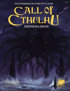 Call of Cthulhu: 7th Edition Keeper Rulebook Hardcover