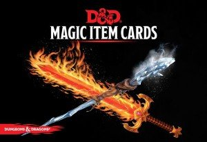 D&D Spellbook: Magic Item Cards Deck