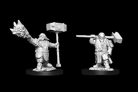 D&D Minis: Male Dwarf Cleric