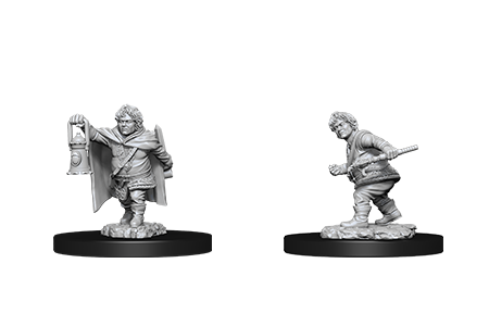 D&D Minis: Male Halfling Rogue