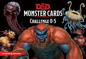 D&D Spellbook: CR 0-5 Monster Cards