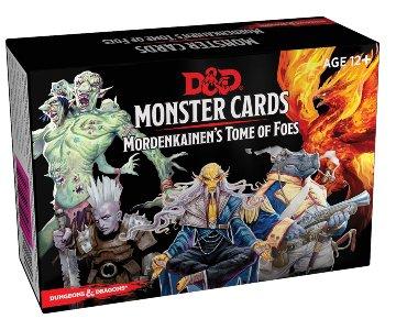 D&D 5E: Mordenkainen's Tome of Foes - Monster Cards