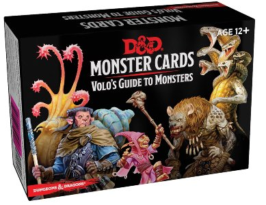 D&D Spellbook: Volo's Guide to Monsters - Monster Cards