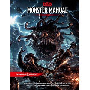 D&D 5E: Monster Manual